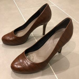 Rockport Seven to 7 High Heel in British Tan